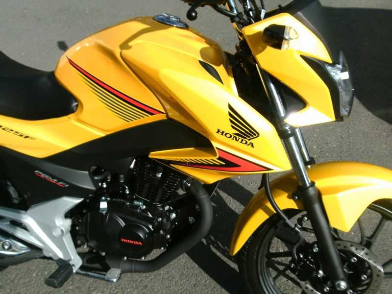 used honda cb 125 f available for sale yellow honda used motorcycles. Black Bedroom Furniture Sets. Home Design Ideas