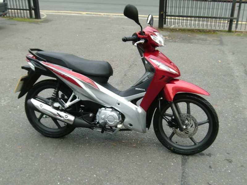 Used Honda Afs 110 2sh C Available For Sale Red 3671